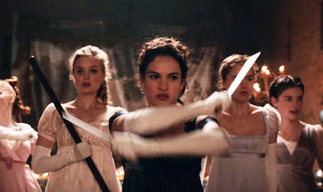 The Bennett sisters put their sword skills to work.